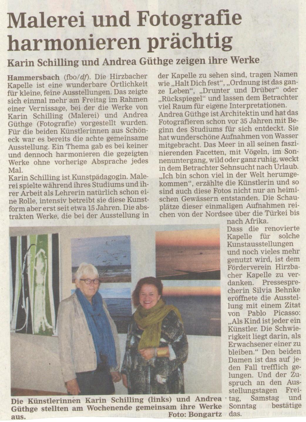 Bericht HA_Ausstellung_Schilling_Güthge