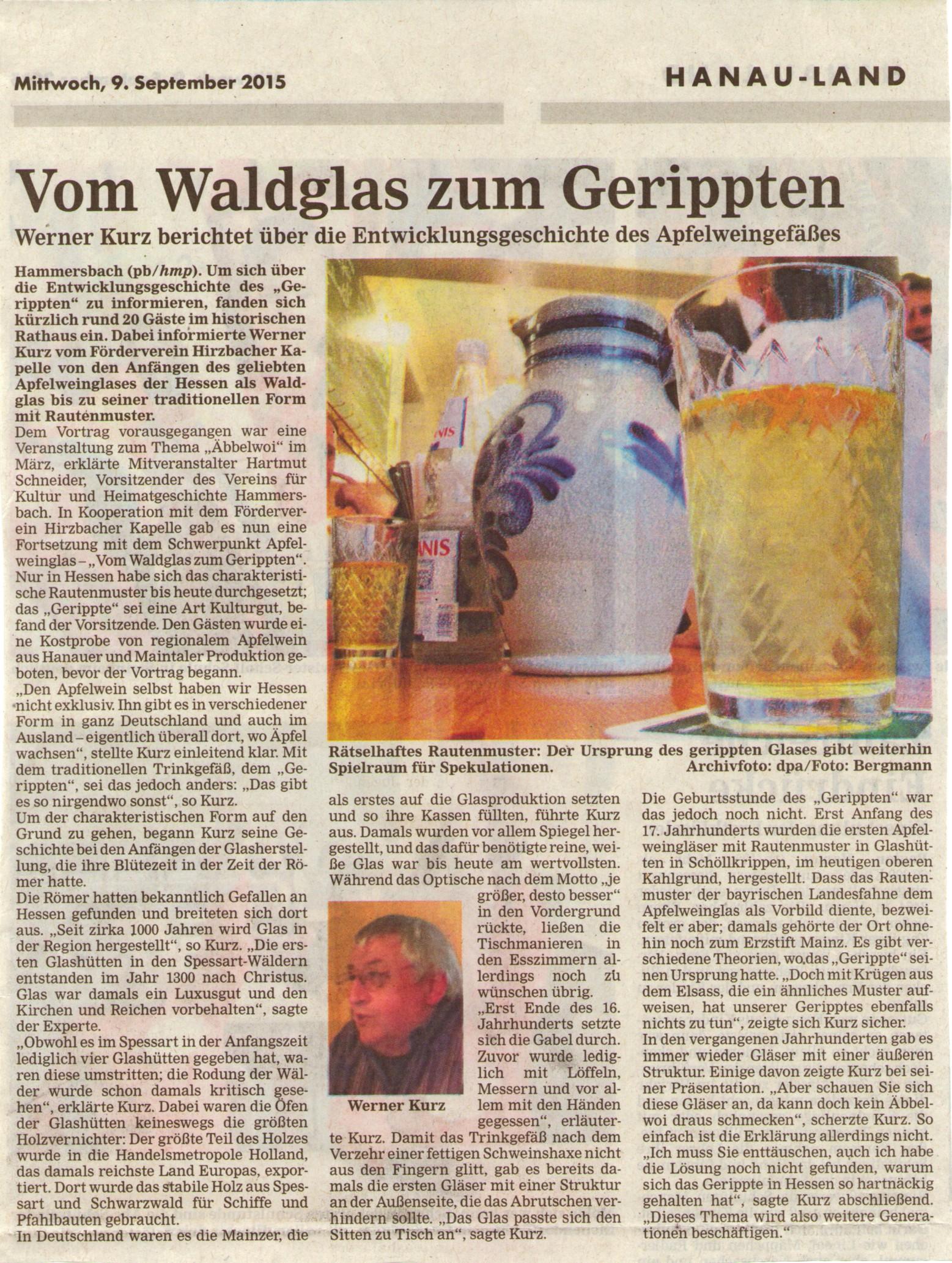 Bericht HA_Vortrag_Kurz_Geripptes